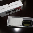 IR & bluetooth Universal active shutter 3d glasses, active 3d glasses gh410ir