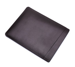 Wholesale 15.6 inch without zipper leather neoprene laptop sleeve