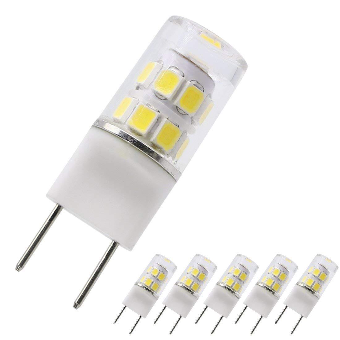 T4 G8 LED Bulb 4000k Natural Daylight 120v 20w 35w LED G8 Replacement 2.5w G8 LED COB Light Bulbs Pin Base LED Halogen Xenon Replacement Light Bulb Puck Light Bulb Under-Counter Lights Microwave Safe
