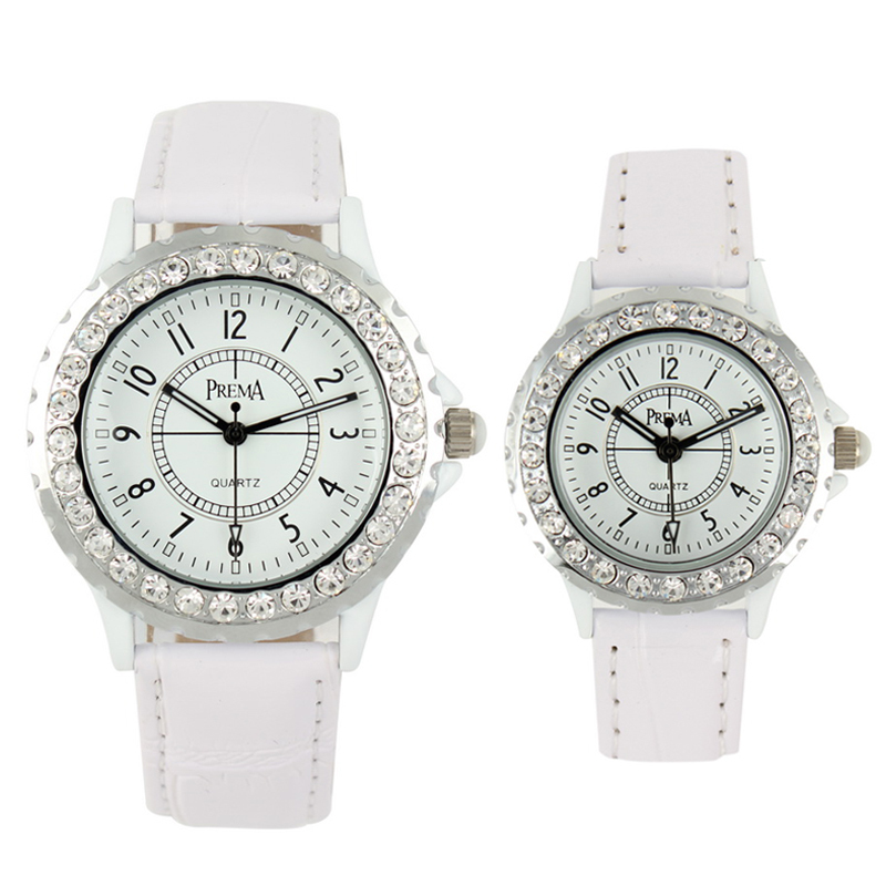 waterproof genuine leather vintage diamond watches/2013 new arrival famous brand watch female/male diamond