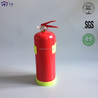 2Kg portable ABC dry powder fire extinguisher with Yellow plastic base