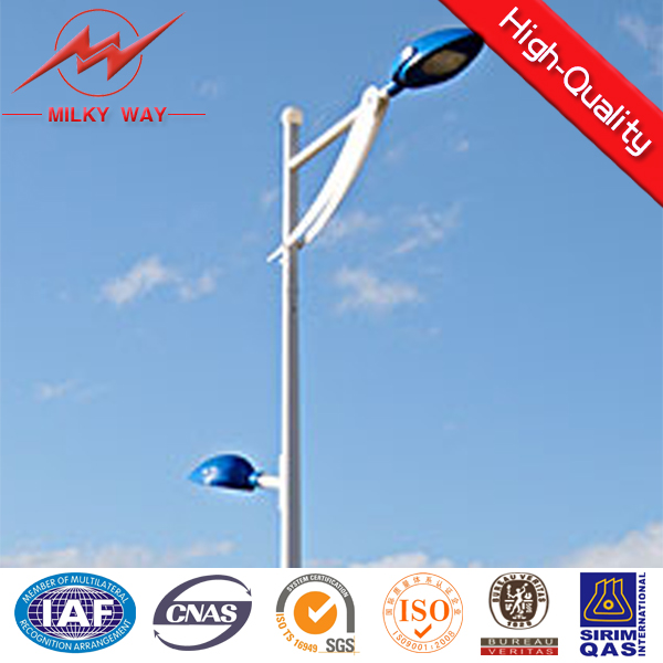 Hot dip galvanized cast iron street lighting pole price