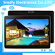 Quality assurance tablet pc10 inch tablet pc IPS screen quad cord 3G dual sim teblet pc