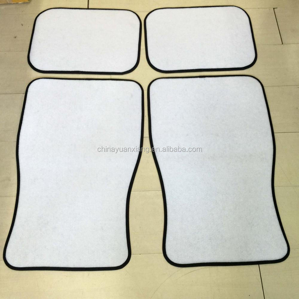photograph regarding Printable Floor Mats referred to as Printable White Customised Blank Automobile Flooring Mats Fixed For Sublimation Seek the services of - Invest in Blank Automobile Surface area Mats,White Automobile Surface area Mats,Blank Motor vehicle Mats Materials upon