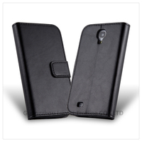Premium Wallet Leather Mobile Phone Stand Case Cover for Samsung Galaxy S4 i9500