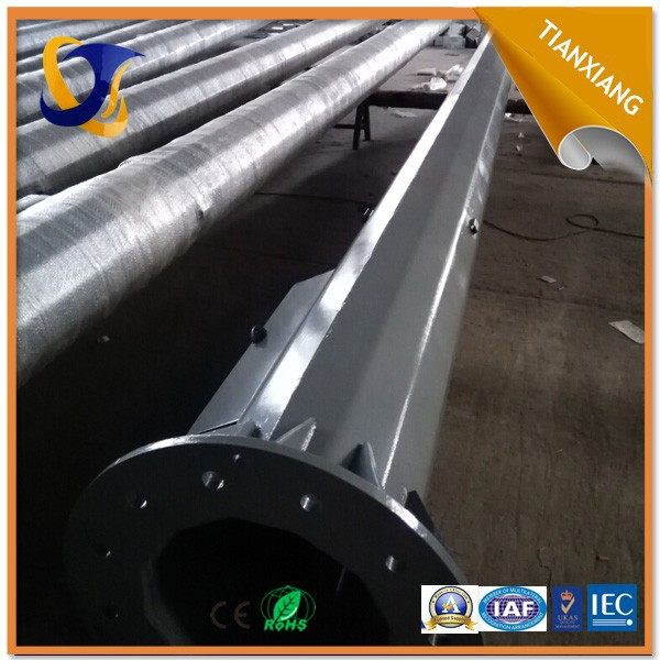 2015 top quality steel street lighting pole base