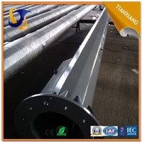 2015 top quality steel street lighting pole base