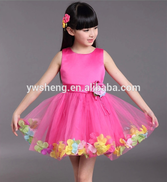 New Little Girl Party Wear Western Dresses Baby Girl Birthday Party ...
