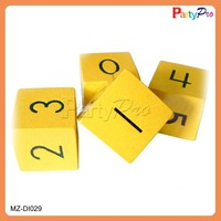 2015 Hot Sale Bulk Colorful Customized Wooden Dice