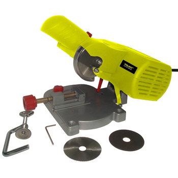 TOLHIT 220-240v 50mm 90w Power Mini Miter Cut Off Saw Multi Purpose Cutting Portable Electric Hobby Tools