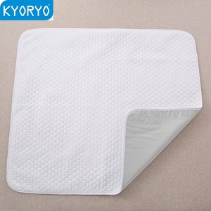 Eco-friendly washable reusable pet incontinence mat dog training pads dog pee pad