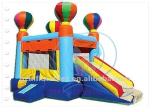 2011 {Qi Ling} balloon bouncer combo slide