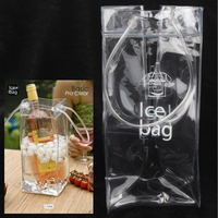Eco-friendly High Quality PVC Ice Bag for Wine (Transparent)