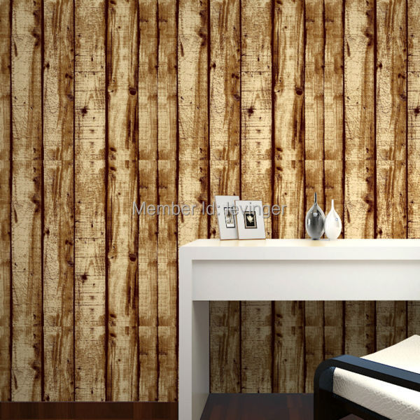 Levinger 3D Wood Wall Panel Cheap Modern Wallpaper 3D Wall