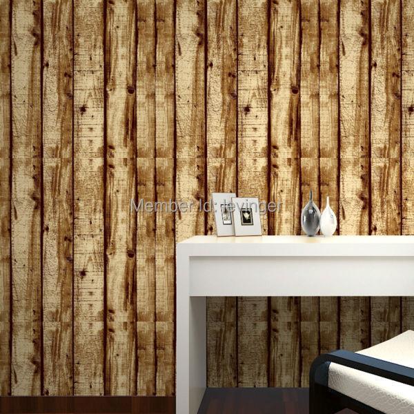 levinger 3d wood wall panel cheap modern wallpaper 3d wall covering. Black Bedroom Furniture Sets. Home Design Ideas