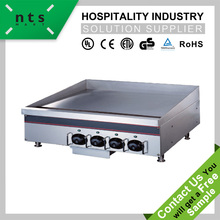 EGO thermostat flat plate electric griddle,teppanyaki griddle , dosa griddle