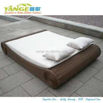 round rattan daybed rattan outdoor cabana beds & Round Rattan Daybed Rattan Outdoor Cabana Beds - Buy Round Rattan ...
