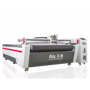 Chinese wholesaler AOL CNC knife cutter automatic car cover cutting machine/car leather seats covers making machine
