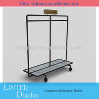 Customized direct shop fittings display rack