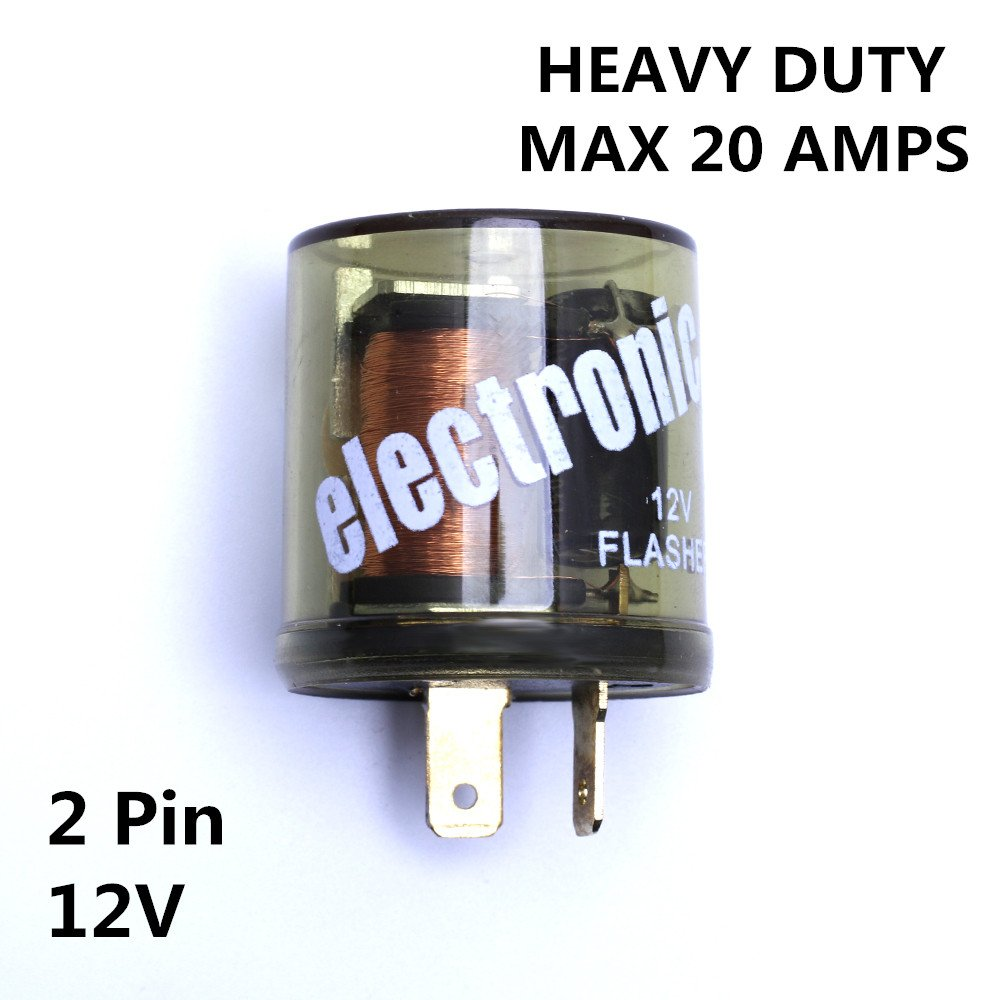 Cheap Ac Flasher Find Deals On Line At Alibabacom Simple Light Bulb Get Quotations 12v Heavy Duty 2 Pin Led Compatible Electronic Fixed Turn Signal Relay