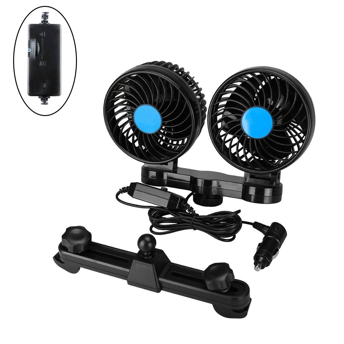 Cheap Small Car Fan Find Deals On Line At Alibabacom Auto Cool Get Quotations Fans Electric Cooling 12v With 360 Rotatable Dual Head Adjustable