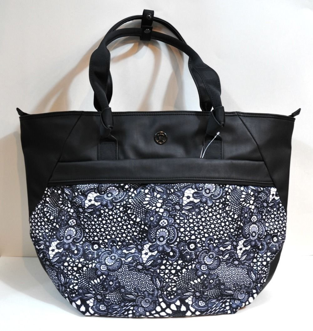 f7931487aab Buy LULULEMON SWEAT ONCE A DAY GYM BAG TOTE IN blac in Cheap Price ...