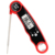 Thermometer with Foldable Probe Instant Read Waterproof Meat Thermometer BBQ Oven