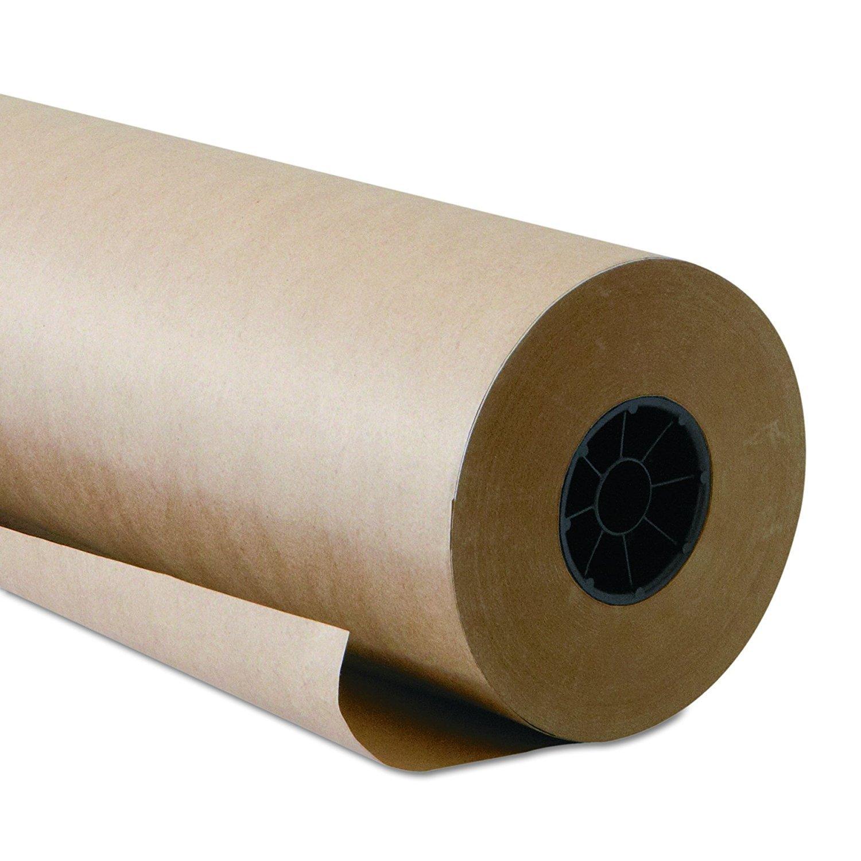 """6fabce2691a Get Quotations · Brown Kraft Paper Roll – 48"""" x 1800"""" 150 Feet Long"""