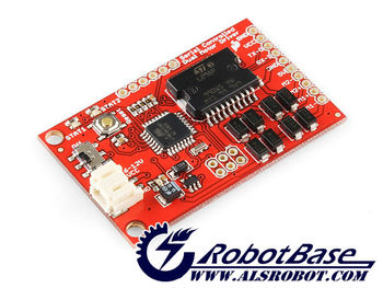 Sparkfun Serial Controlled Motor Driver Based on the L298 Dual Full-Bridge Motor Driver