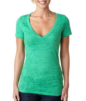 basic v hals t shirts dames