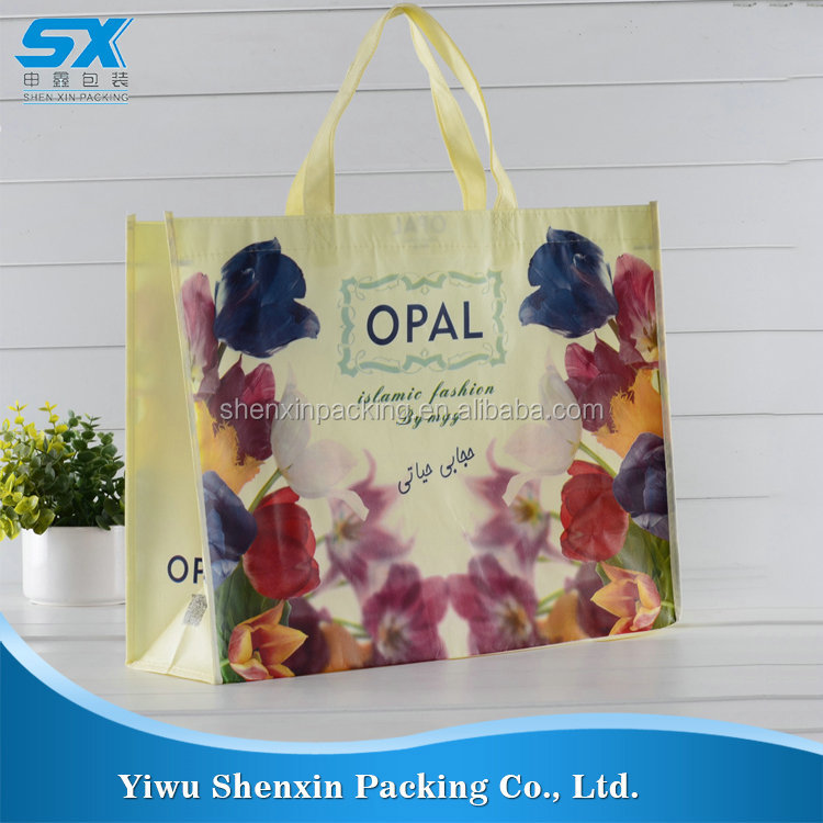 Oem tote shopping non woven bag unique products from china