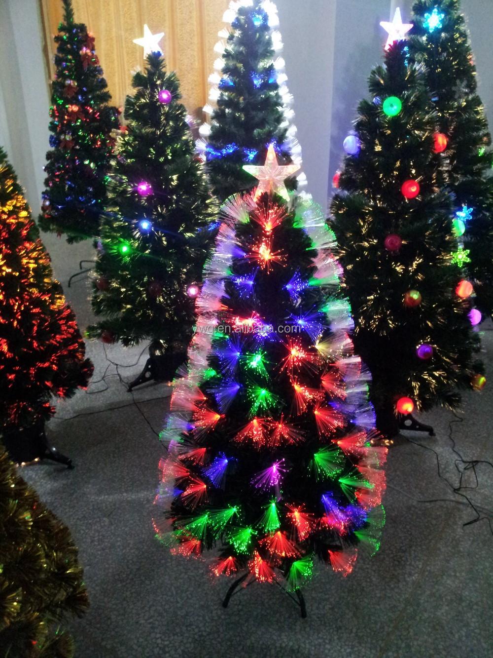 Fiber optic christmas snowman wreath decoration -