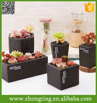 Modern Home Decorative Handmade Plant Small Ceramic Cement Flower Pot - Buy  Cement Flower Pot,Cheap Small Flower Pots,Small White Ceramic Flower Pots