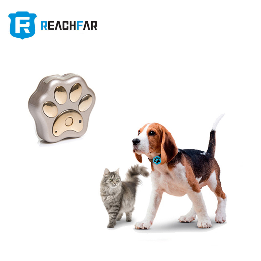 mini waterproof dog cat collar tracking via wifi gps and gsm pet gps tracker with geo-fence alarm