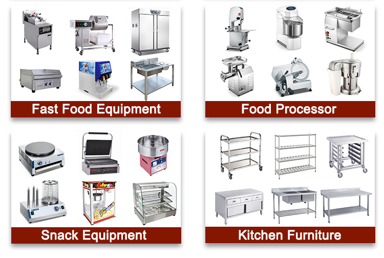 Commercial Freestanding 2-Tank 4-Basket Electric/Gas Open Fryer /KFC Deep Fryer Machine with Wheels