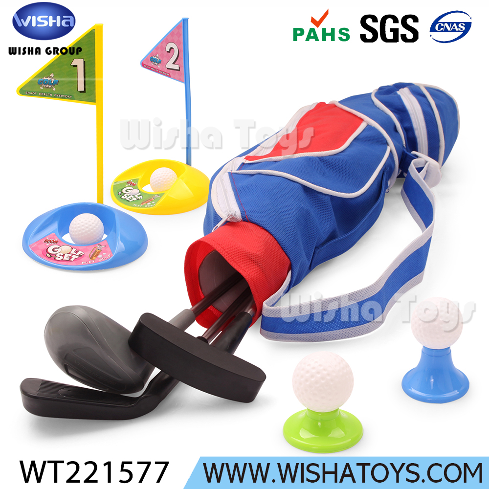 Kid educational toy outdoor sport games golf set children toy