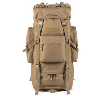 800a463c4e44 A21 75L 100L Big capacity Military tactical backpack 600D waterproof oxford  fabric huge large outdoor climbing