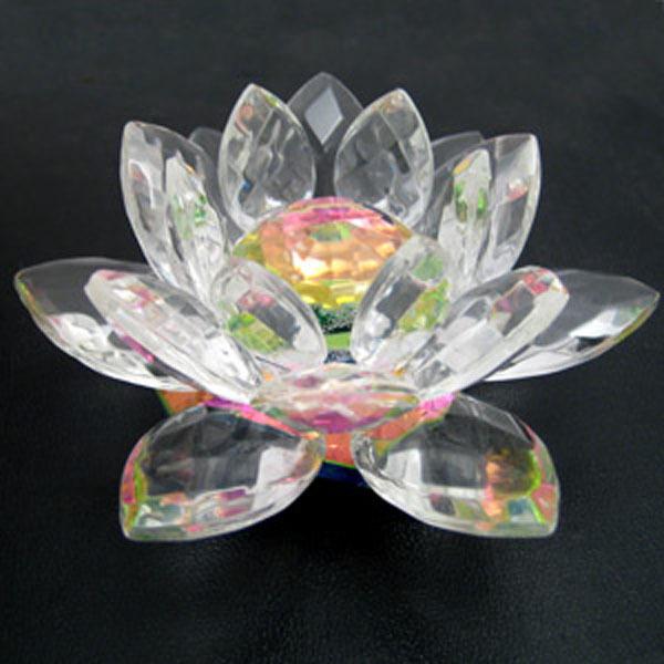 Glass Lotus Flower For Wedding Decoration Buy Glass Lotus Flower