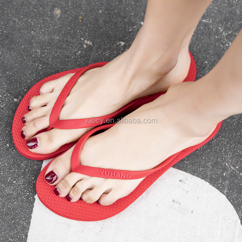 Latest Rubber Couple Flip Flop Beach Slippers