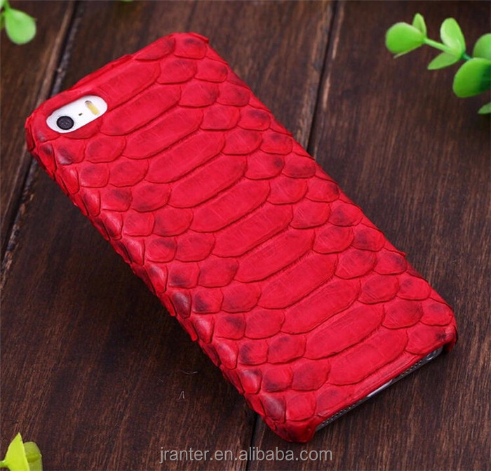 Luxury genuine python snakeskin case for apple iphone 6 plus, leather case for iphone 6/7 back cover