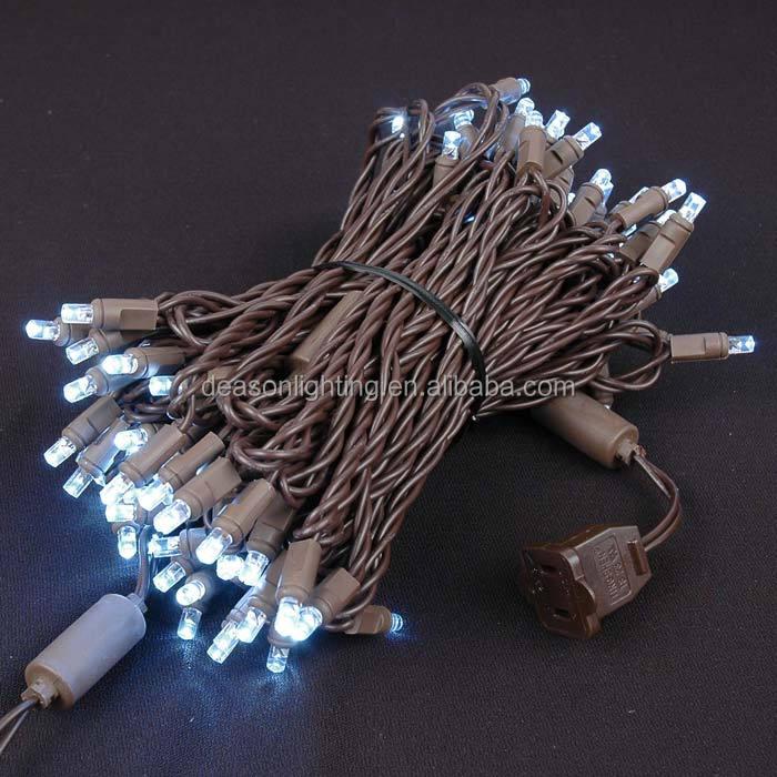 70 5mm Cool White Led Christmas Lights