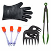 Wholesale Silicon Heat-Resistant BBQ Tool Set NEW barbeque Tool Set