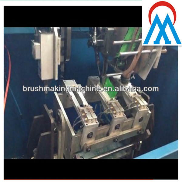 china 5 axis 2 drilling and one tufting head broom making machine manufacturer