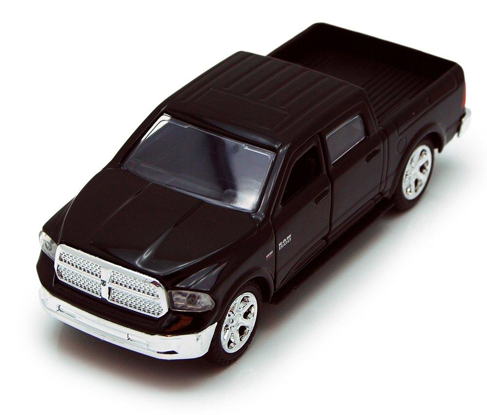 Jada Toys 2013 Dodge Ram 1500 Pickup Truck Collectible Diecast Model Car Black