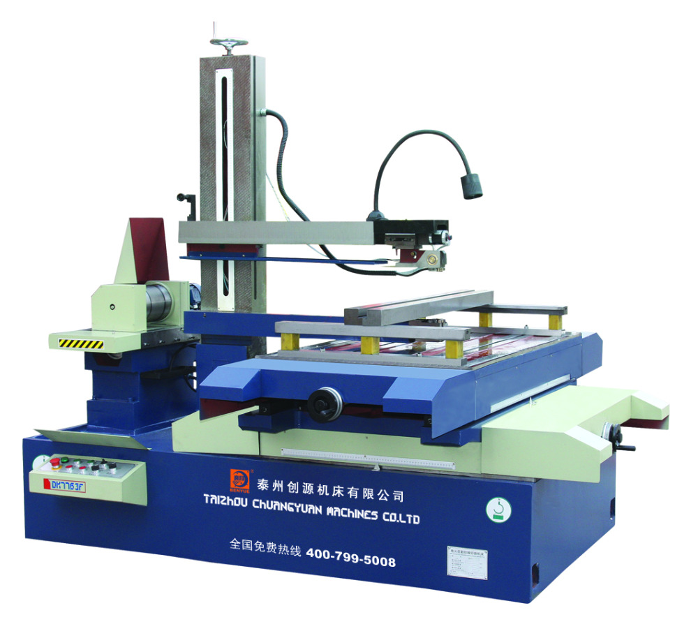 EDM New machinery-Wise CNC medium speed wire cut/electric discharge machine/EDM with High efficiency(DK7732)