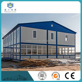 Cost Saving Easy Installation Front Elevation Designs For Houses 30 Years  Life Span Prefabricated House In