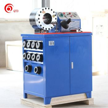 "2"" High Pressure Hydraulic Hose Cutter Hose Pressing Machine"