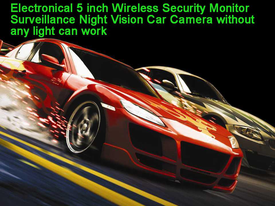 Termal Kamera Modülü Gece Görüş Araba Kamera Sürüş