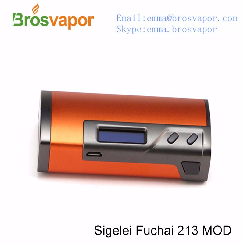 Factory price hot sale Dual 18650 battary Sigelei fuchai 213 with best service