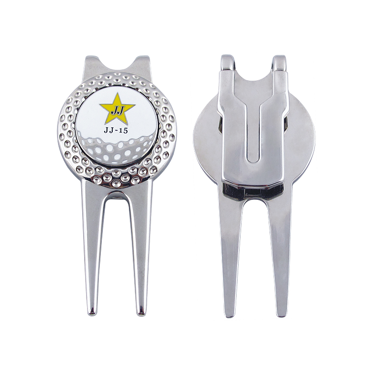 Großhandel Produkte Groß Benutzerdefinierte Pitchgabel Mit Golfball Marker